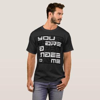 Camiseta Usted es un laberinto a mí