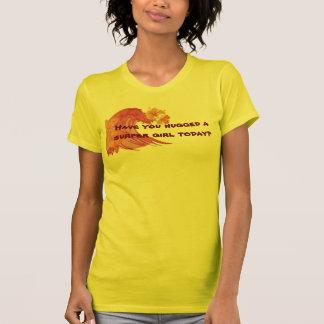 Camiseta ¿Usted ha abrazado a un chica de Sufer hoy?