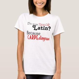 Camiseta: ¿Usted habla el latín? Camiseta