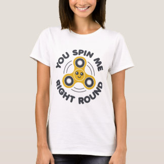 Camiseta Usted hace girar la ronda correcta
