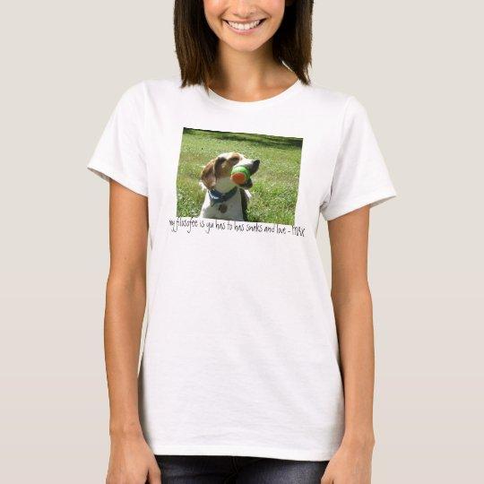 Camiseta Usted Hav tiene Snaks y Lov