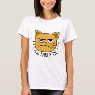 Camiseta Usted me molesta