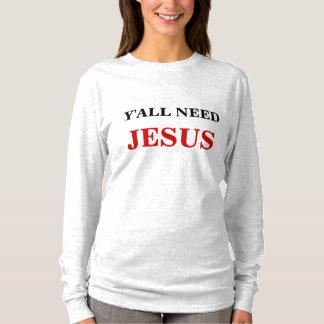 CAMISETA USTED NECESITA A JESÚS