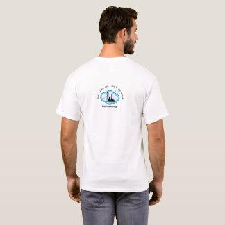 Camiseta ¡Usted no debe culpar, usted vive en el área de la