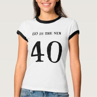 Camiseta ¡Usted no hace la mirada 60!