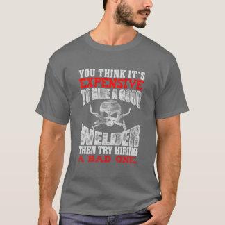Camiseta Usted piensa su costoso entonces emplear un buen