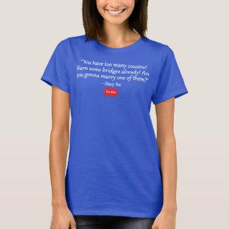 Camiseta Usted tiene demasiados primos