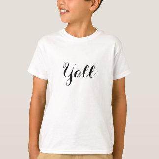 Camiseta Usted tipografía