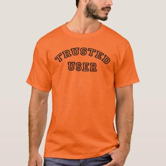 Camiseta Usuario de confianza