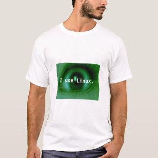 Camiseta Utilizo Linux