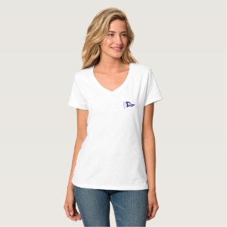 Camiseta V-neck T-shirt de señora
