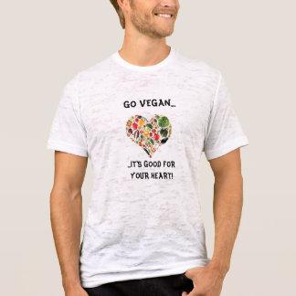 Camiseta VA EL VEGANO. .its bueno para su corazón