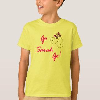Camiseta ¡Va Sarah va! Niños de la mariposa