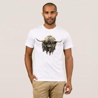 Camiseta Vaca escocesa de la montaña