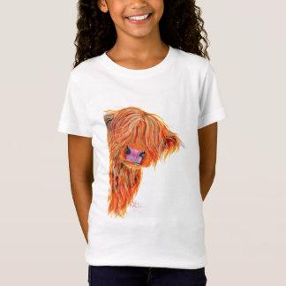 Camiseta Vaca escocesa 'PEEKABOO de la montaña