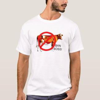 Camiseta Vaca mandona de la campaña de la prohibición