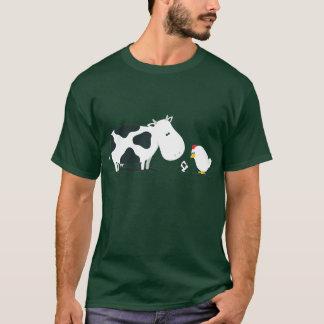 Camiseta Vaca o pollo
