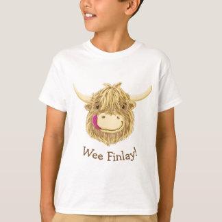 Camiseta Vaca pequenita personalizada de la montaña de