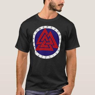 Camiseta Valknot con un Futhark más viejo