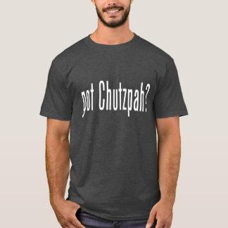 Camiseta valor conseguido
