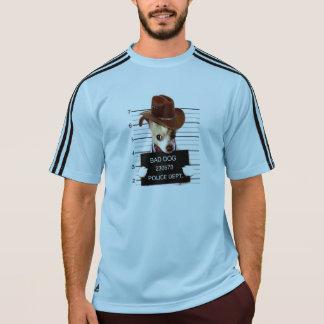 Camiseta vaquero de la chihuahua - perro del sheriff