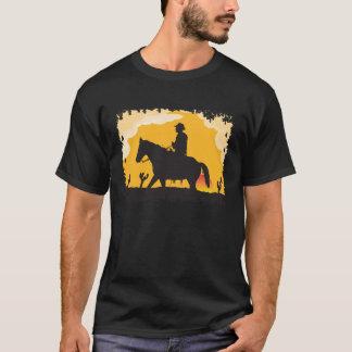 Camiseta Vaquero de la puesta del sol