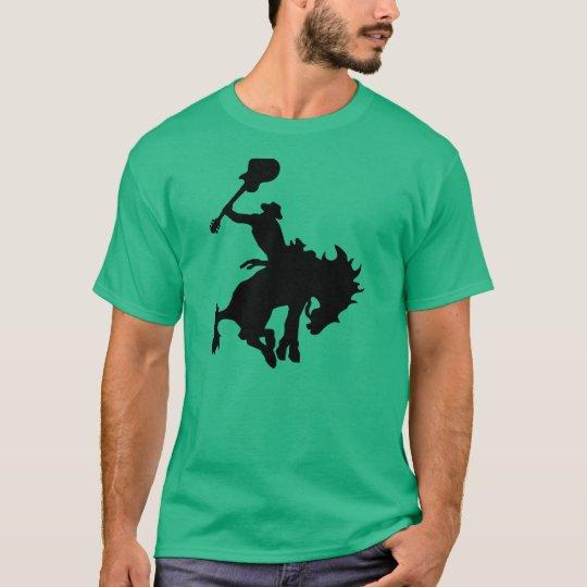 Camiseta Vaquero del rodeo del héroe de la guitarra a