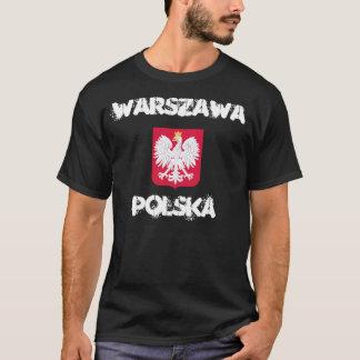 Camiseta Varsovia, Polska, Varsovia, Polonia con el escudo