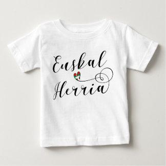 Camiseta vasca Euskal Herria del corazón del país