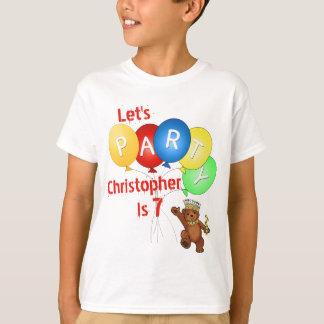 Camiseta Vayamos de fiesta al 7mo príncipe del oso del