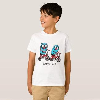 Camiseta Vayamos por el montar a caballo de la bici de