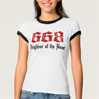 Camiseta Vecino 668 de la bestia