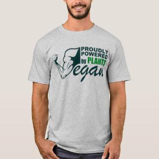 Camiseta Vegano: Accionado orgulloso por las plantas