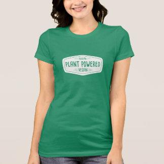 Camiseta Vegano accionado planta del 100% divertido