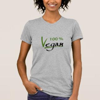 Camiseta Vegano del 100 por ciento