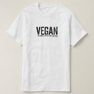 Camiseta VEGANO. Para los animales. Para el planeta. Para