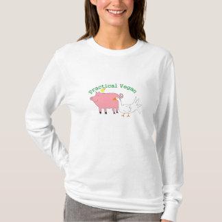 Camiseta Vegano práctico -