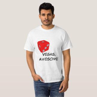 Camiseta ¡Vegas, impresionante! /camiseta de los dados