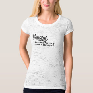 Camiseta Vegetariano divertido