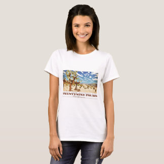 Camiseta Veintinueve palmas Califorina