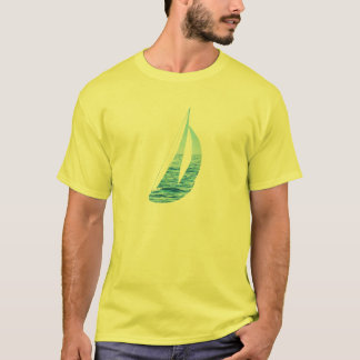 Camiseta velero del océano