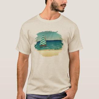 Camiseta Velero y mar