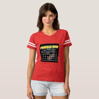 Camiseta Velocidad del COLOR del TIGRE del coche