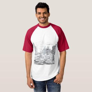 Camiseta Venecia. Ciudad en el agua