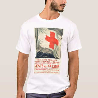 Camiseta Venta francesa de la caridad de la Cruz Roja