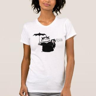 Camiseta Ventrílocuos del gótico del vampiro