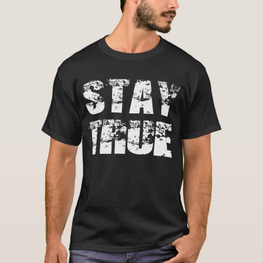 Camiseta verdadera de la estancia