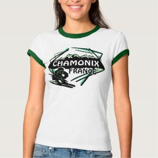 Camiseta verde de las señoras del arte del