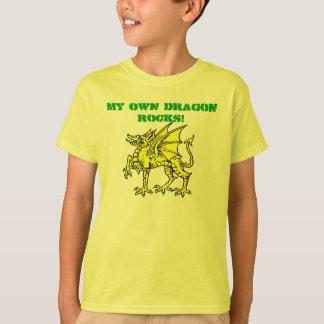 Camiseta ¡Verde de neón MIS PROPIAS ROCAS del DRAGÓN! La