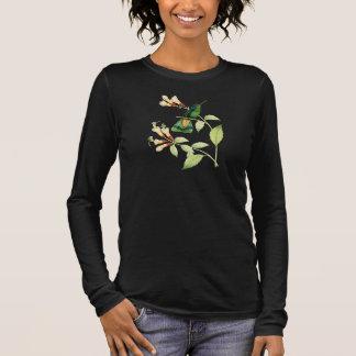 Camiseta verde del colibrí de Violetear